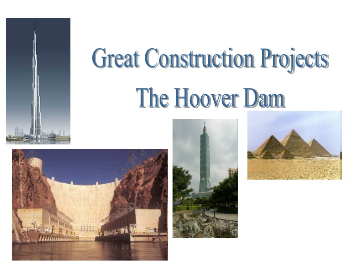 great construction projects the hoover dam n.