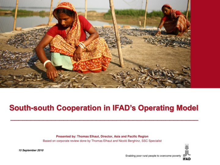 south south cooperation in ifad s operating model n.