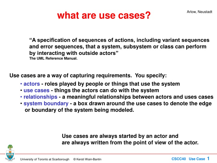 what are use cases n.