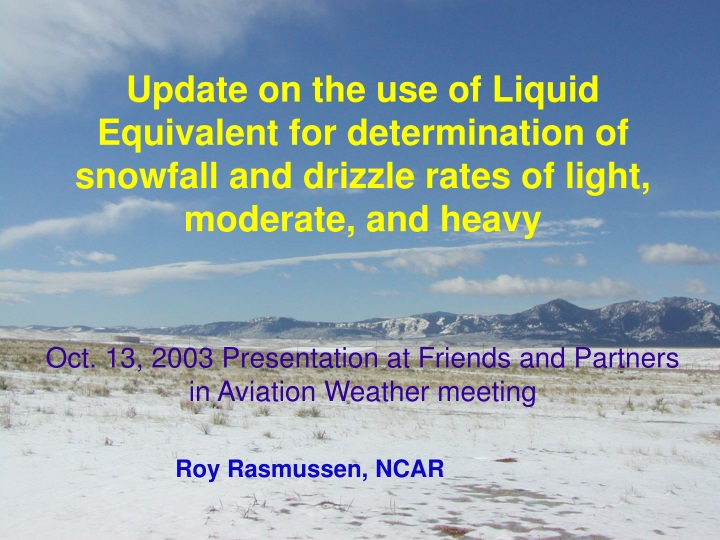 update on the use of liquid equivalent n.