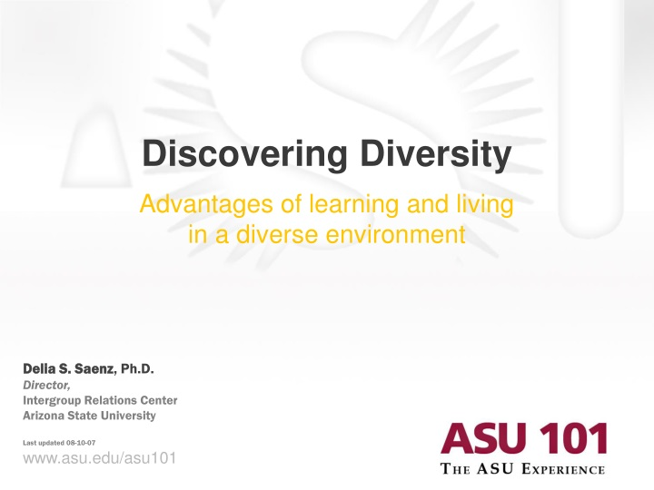discovering diversity n.