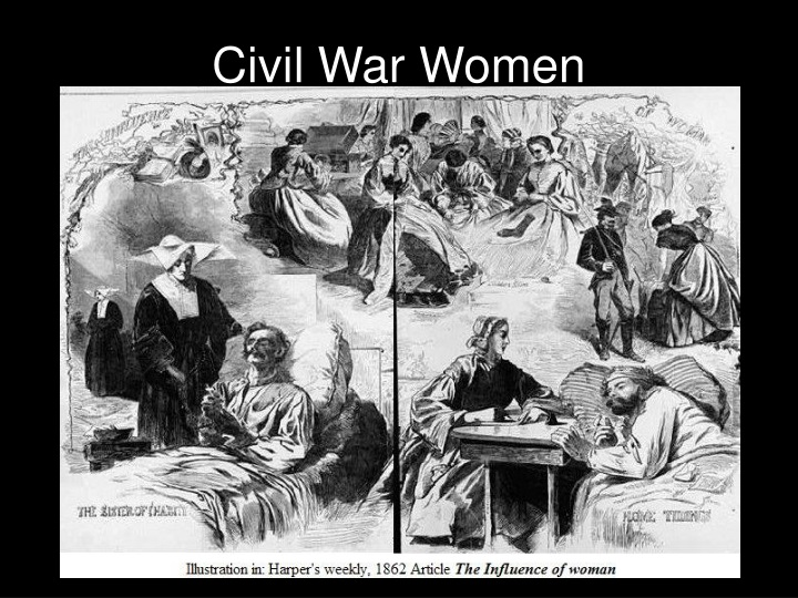 civil war women n.