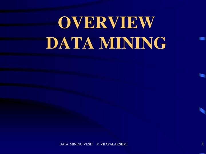 overview data mining n.