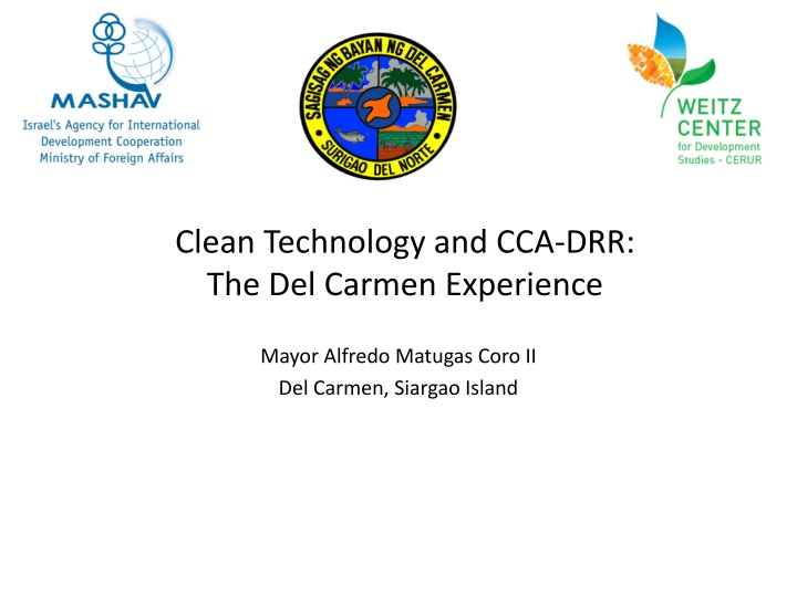 clean technology and cca drr the del carmen experience n.
