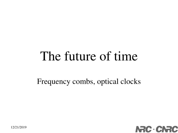 the future of time n.