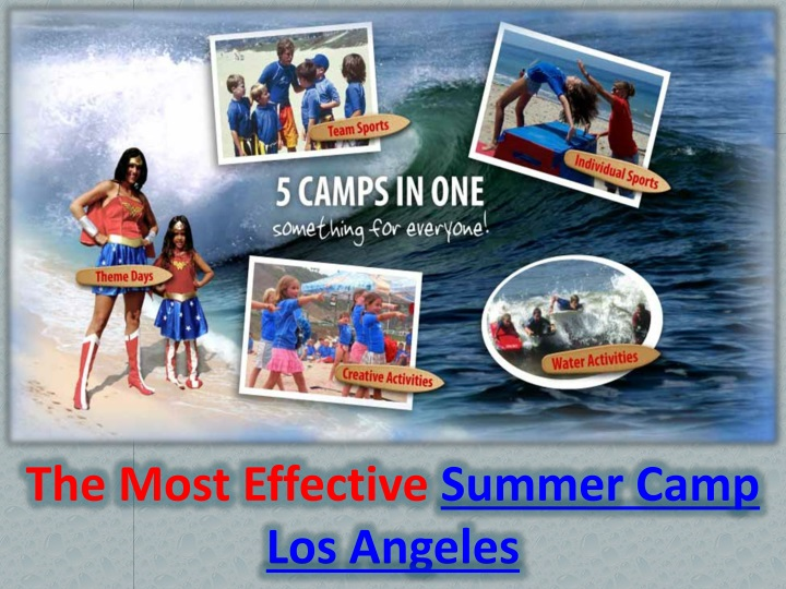 the most effective summer camp los angeles n.