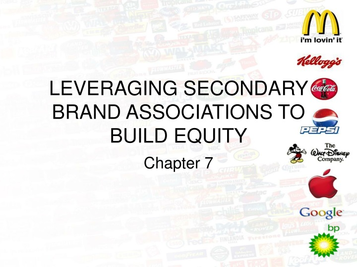 leveraging secondary brand associations to build equity n.