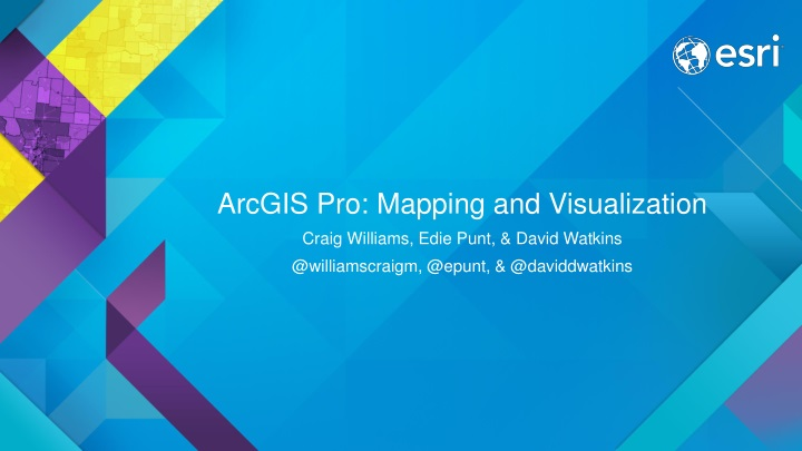 arcgis pro mapping and visualization n.