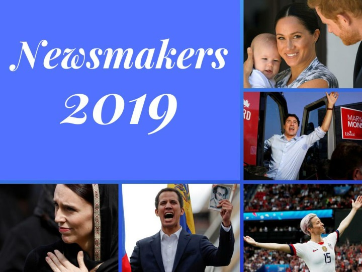 Newsmakers of 2019