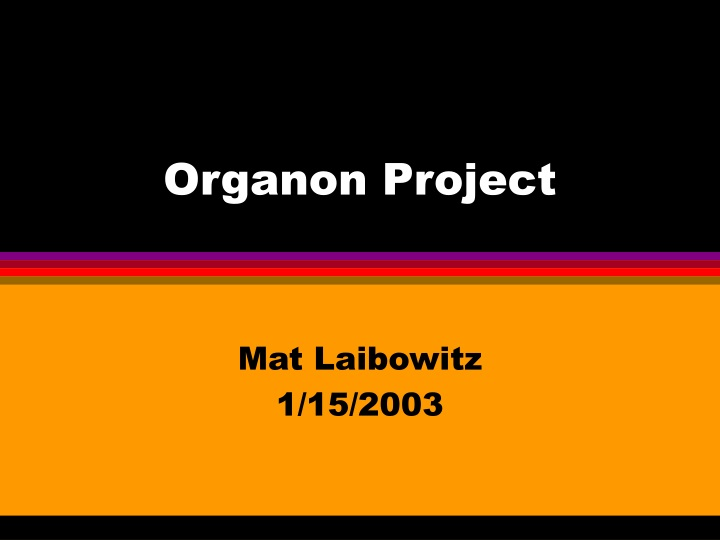 organon project n.