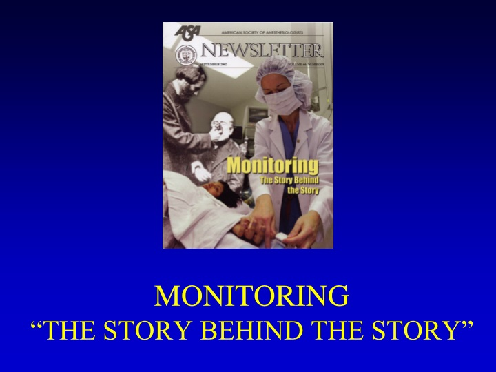 monitoring the story behind the story n.
