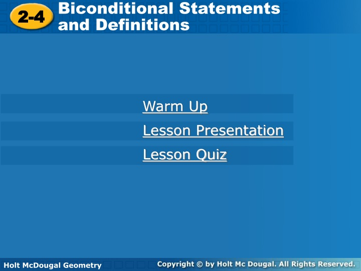 biconditional statements and definitions n.