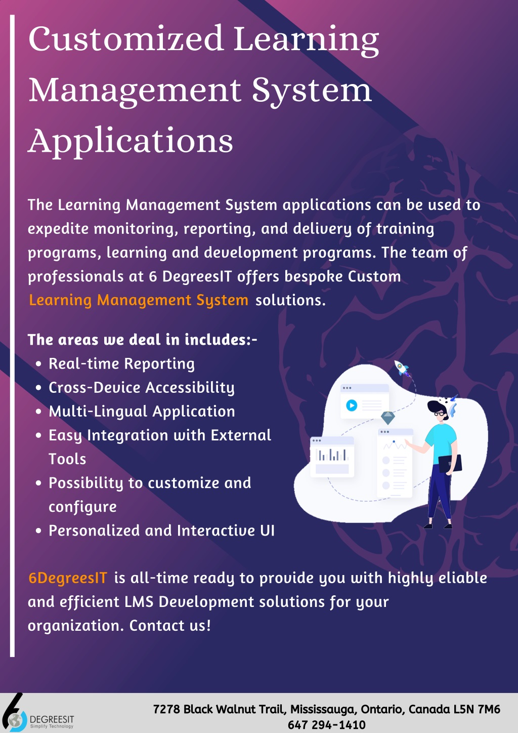 customized learning management system applications l.
