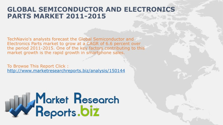 global semiconductor and electronics parts market 2011 2015 n.