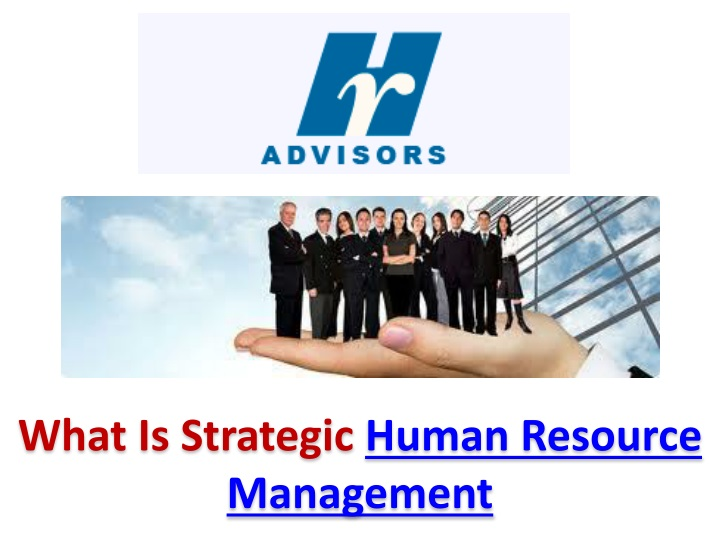 what is strategic human resource management n.