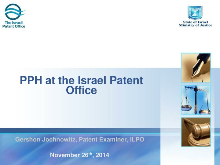 pph at the israel patent office n.