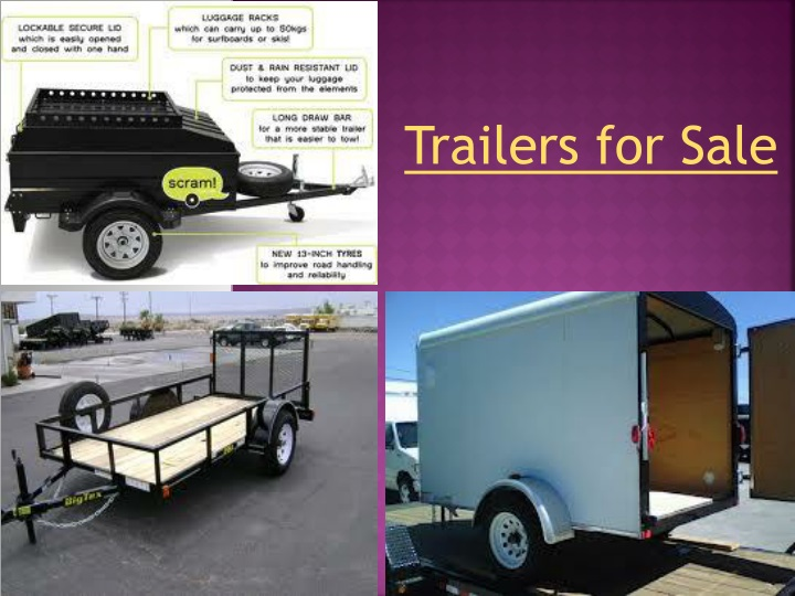 trailers for sale n.