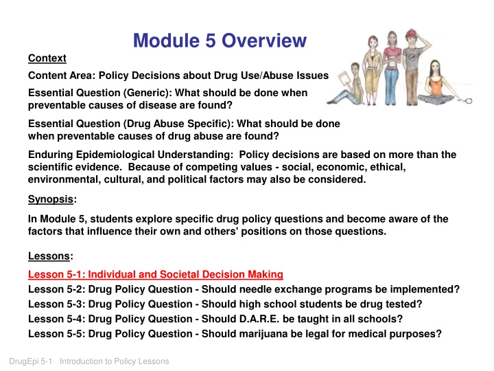 module 5 overview context content area policy n.